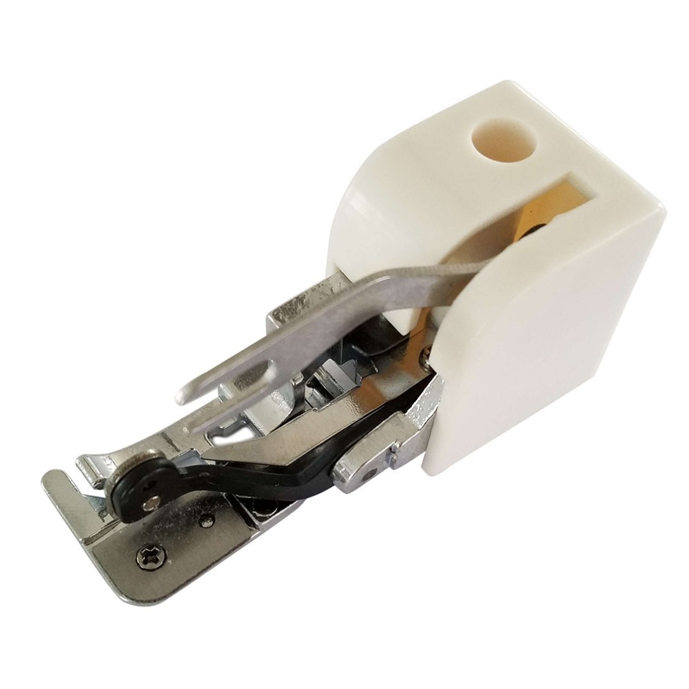 Hot Sale Household Durable Metal & Plastic Side Cutter Presser Foot/Embroidery Darning Foot for Low-Shank Sewing Machine