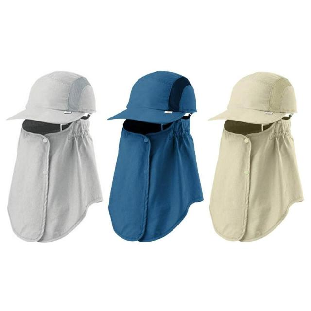 a6ff38589bc Summer Baseball Cap Men Women Solid Color Outdoor Sport Camping Hiking  Fishing Sun UV Protection Visor