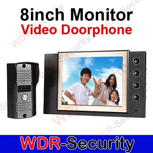 Home 8 LCD Monitor Video Door Phone Doorbell Camera Entry Intercom SystemHome 8 LCD Monitor Video Door Phone Doorbell Camera Entry Intercom System