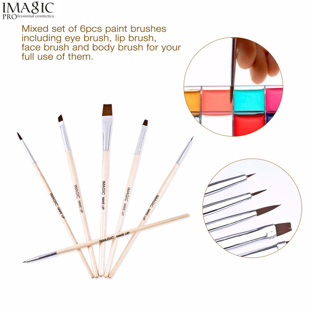 Awesome Imagic Body Painting Makeup Brushes Painting Face For Fluorescent Wiring Digital Resources Nekoutcompassionincorg