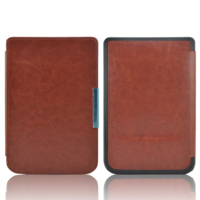 New Arrival High Quality Leather Cover Case For Pocketbook Basic Touch Lux 2 614 624 626