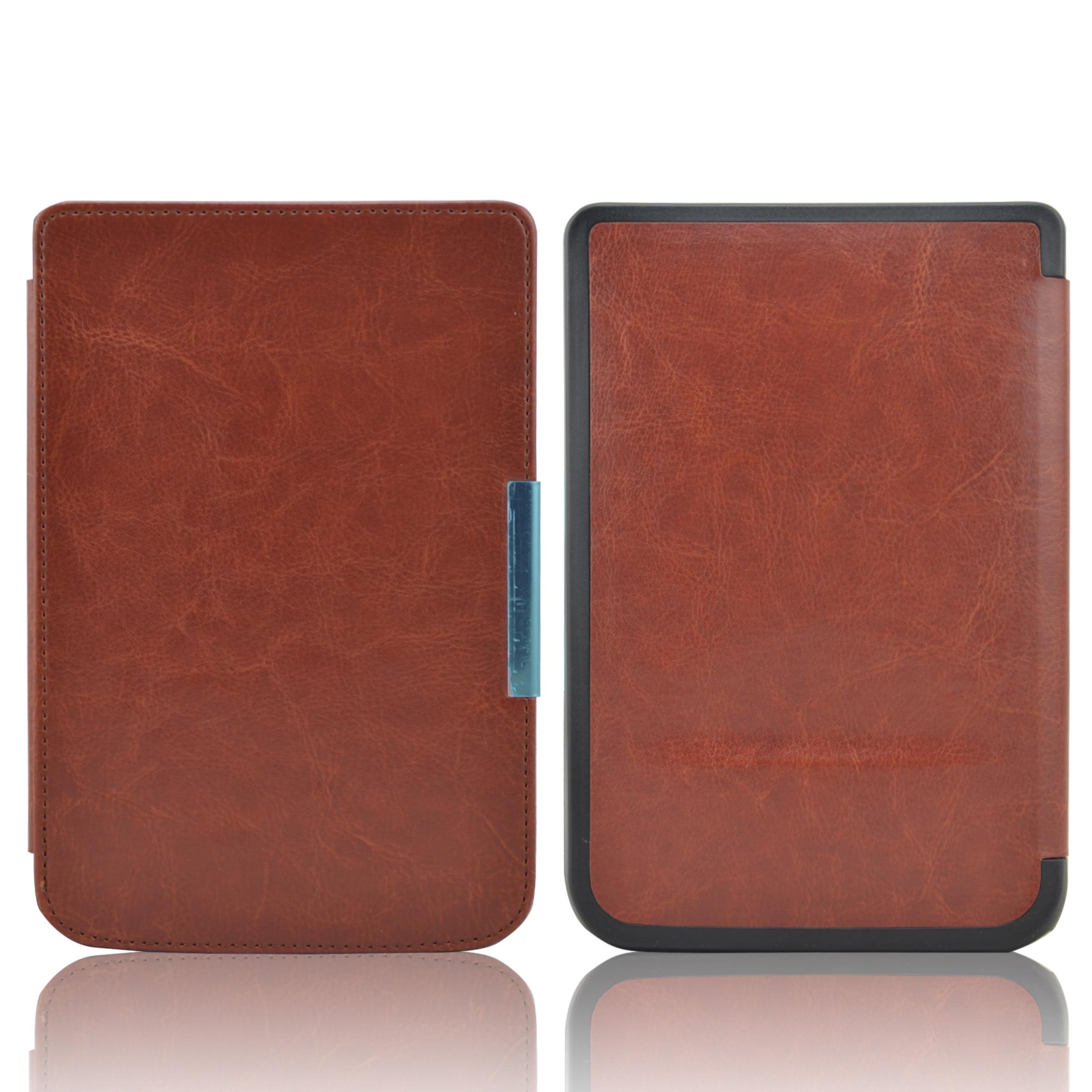 Nueva llegada de la alta calidad Funda de cuero para bolsillo basic touch lux 2 614/624/626/640 touch lux 3 ereader