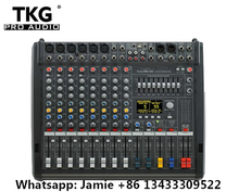 New PM600 3 Powermate 600 3/ Powermate 600 mk3 Power Mixer with Cover 6 channel professional mixer console