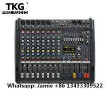 Nieuwe PM600 3 Powermate 600 3/ Powermate 600 mk3 Power Mixer Met Cover 6 Kanaals Professionele Mixer Console