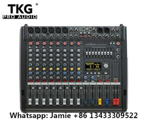 Image 1 - Novo PM600 3 powermate 600 3/powermate 600 mk3 power mixer com capa 6 canal profissional mixer console
