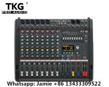 Powermate Mezclador de potencia con tapa, consola mezcladora profesional de 6 canales, 600 mk3, PM600 3