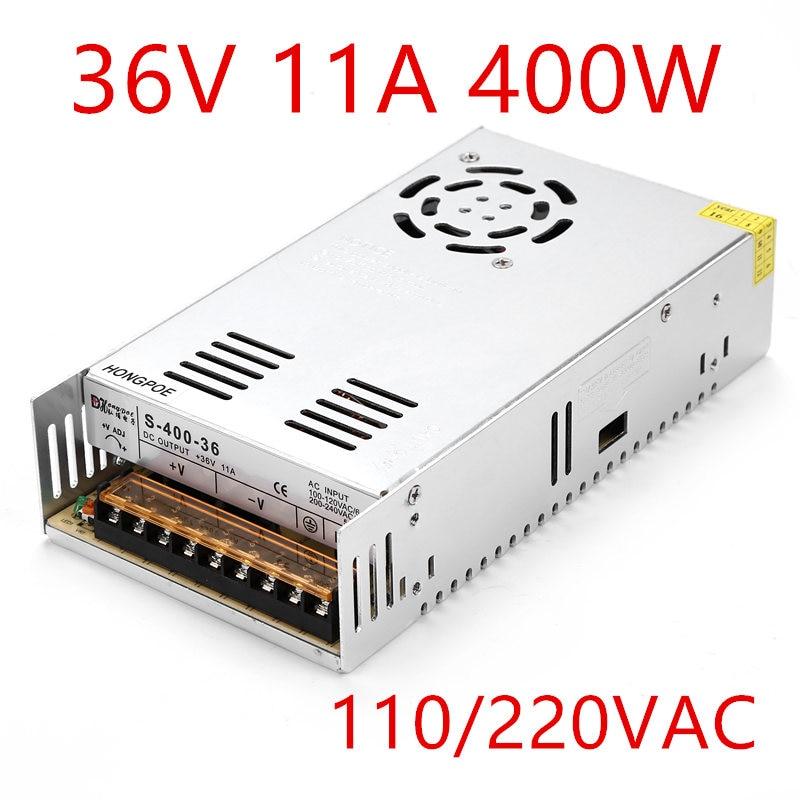 питания 12 В 24 в 36 в 48 в 360 Вт 400 Вт импульсный источник блок питания трансформатор AC DC