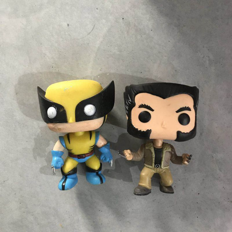 Original Funko Pop Secondhand X-MEN - LOGAN Wolverine Vinyl Action Figure Collectible Model Loose Toy No Box(China)