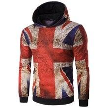 3d толстовки 3d мужские M слово флаг печатных Толстовка пальто XL 2XL 3XL