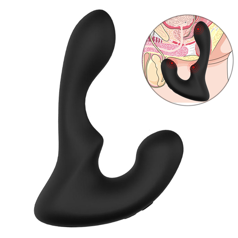 FLXUR Prostate Massage Anal Plug Vibrator For Man Stimualte Male G-spot Masturbator Sex Toys For Men Silicone 9 Speed Anal Toys lycopene 40 mg supports prostate