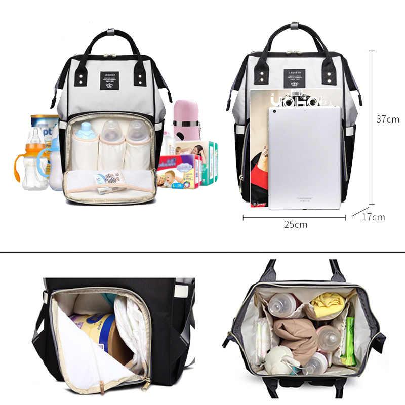 Windel Taschen für Frauen Mutterschaft Windel Taschen Baby Pflege Reise Rucksäcke Weibliche Wasserdichte Outdoor Schwangere Frauen Rucksack Mochilas