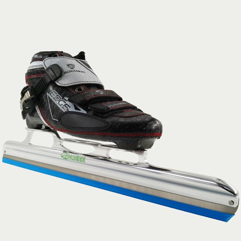 Prix pour Professionnel Rouleau Patins Patins Glace Lame pour Slalom Vitesse chaussures De Patinage Sur Glace Femmes/Hommes Patins À Roues Alignées En Fiber De Carbone Bottes chaussures