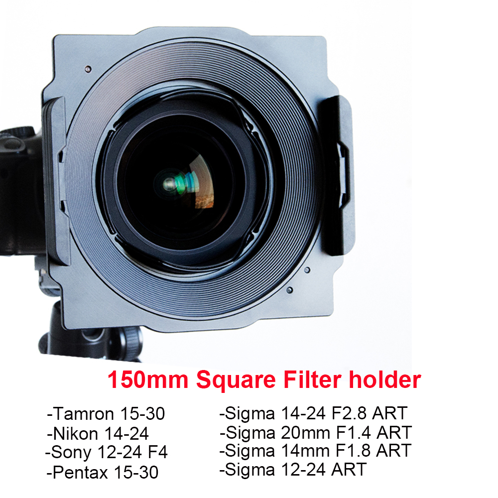 Wyatt металлический 150 мм квадратный держатель фильтра кронштейн для Tamron 15 30, Nikon 14 24, Sigma 14 24/12 24/20 мм/14 мм, Sony 12 24, pentax 15 30