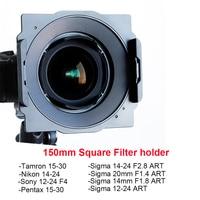 Wyatt Metal 150mm Square Filter Holder Bracket for Tamron 15 30,Nikon 14 24,Sigma 14 24/12 24/20mm/14mm,Sony 12 24,Pentax 15 30