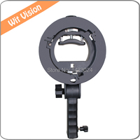 Hand Held S Type Bracket Holder With Bowens Mount For Speedlite Flash Softbox Snoot And Umbrella