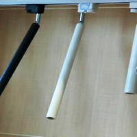 LED Track Light Slim Long cylinder Matt Cover Aluminium LED Hallway Coffee Shop Indoor Up and Down Light Rotation Spot L