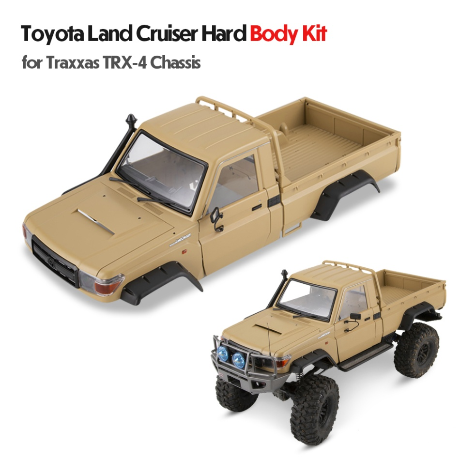 2019 Killerbody LC70 RC Car Body Shell Kit for 323mm Wheelbase Traxxas TRX 4 Chassis 1/10 Toyota Land Cruiser 70 Hoting-in Parts & Accessories from Toys & Hobbies    1