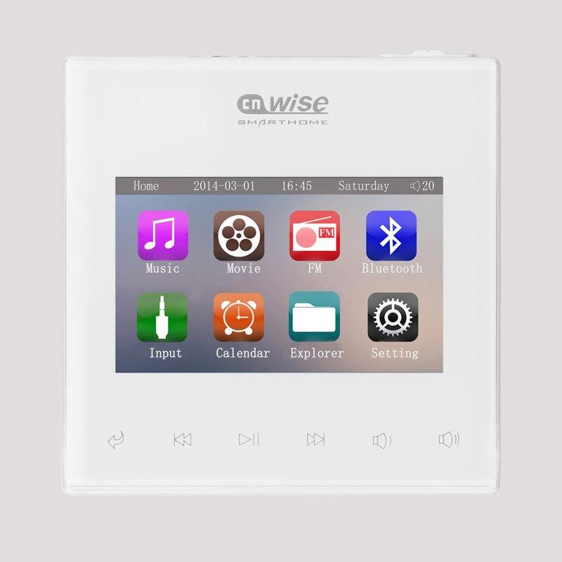 Casa amplificatori Audio visivo in parete, FM/SD/AUX IN/USB Music Player, Bluetooth digitale amplificatore stereo, sistema home theater cinema