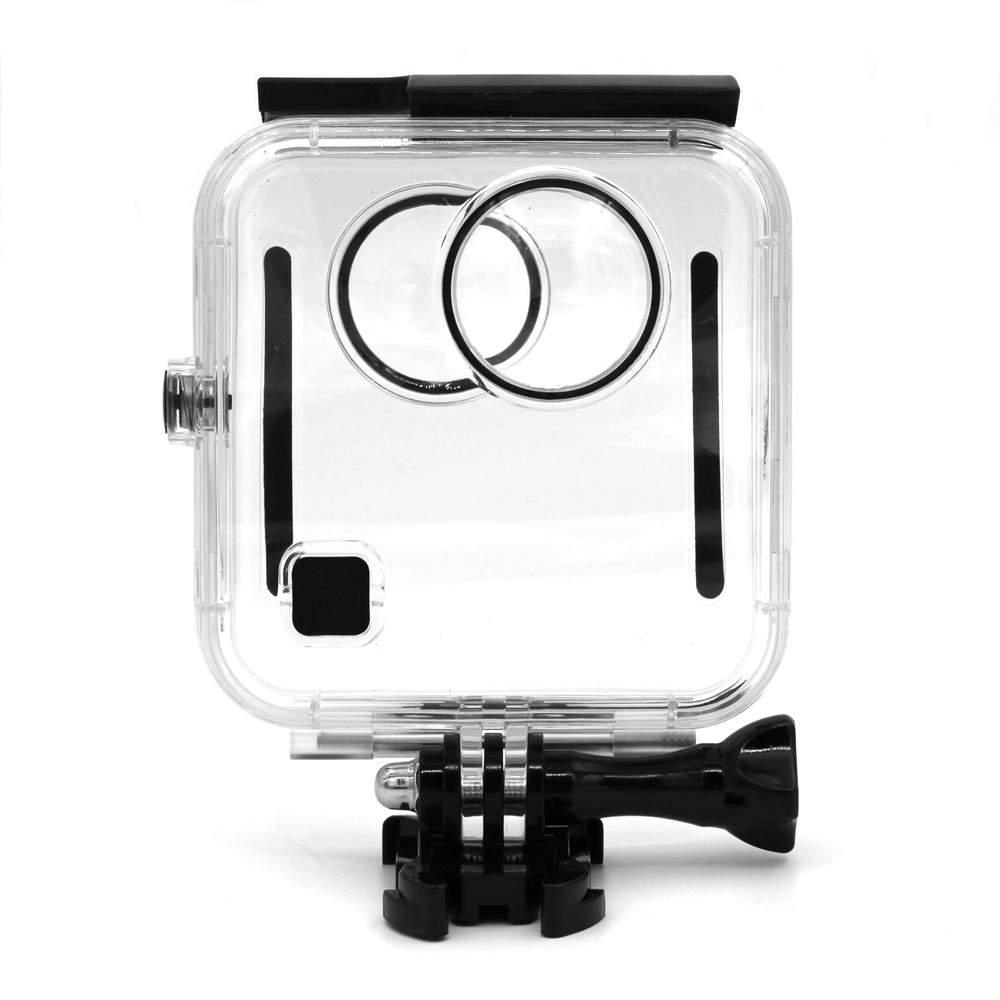 40M Waterproof Housing Case Back Door For Gopro Fusion 360 Camera Underwater Box For Go Pro Fusion Action Camera Accessories transparent plastic waterproof dive housing case underwater cover for sj4000 sports camera camera accessories