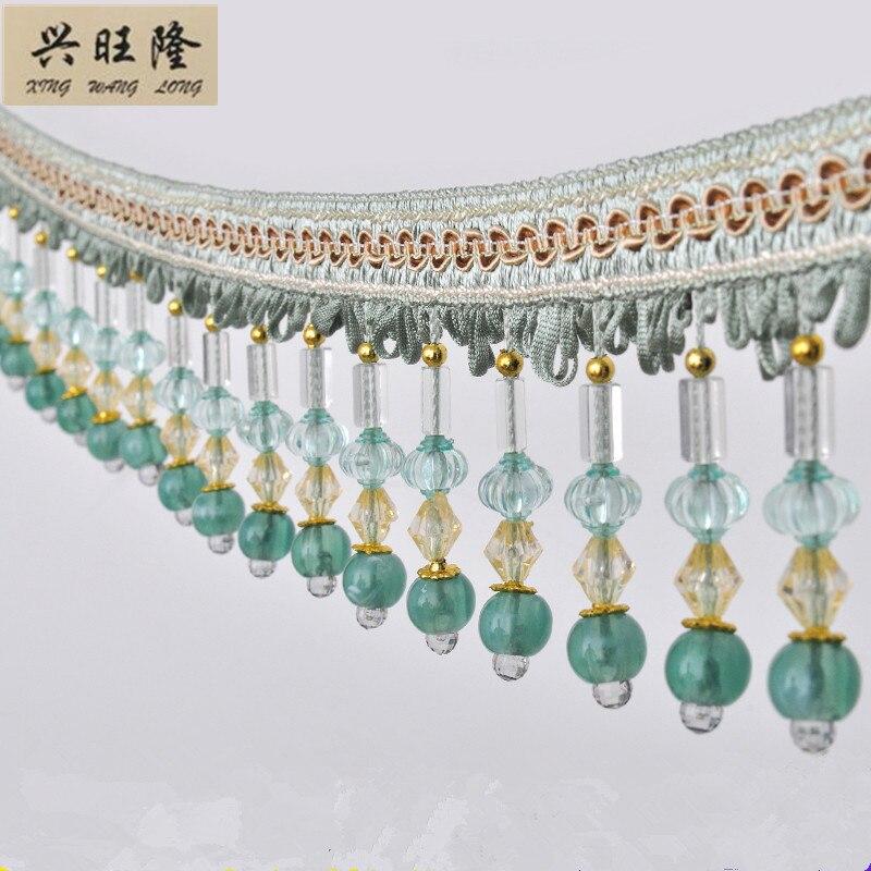 Tassel Beaded Curtain Fringe Sewing Decor Trim DIY Costume Sofa Craft Fabric