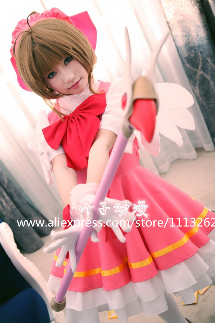 Card Captor Sakura costume cosplay girls princess maid lolita dress Christmas high quality customized any size