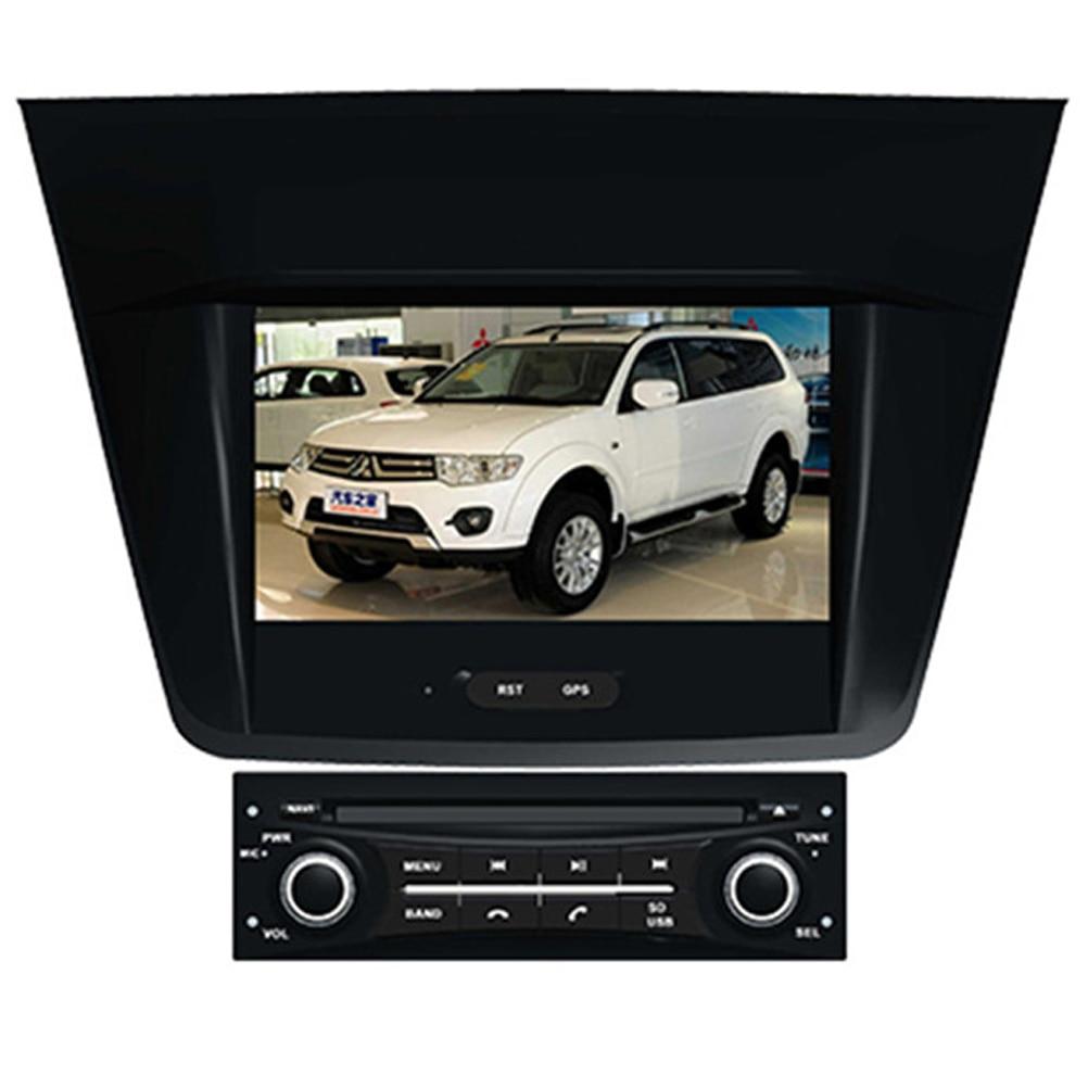 Navitopia wince 6 0 car multimedia player for mitsubishi montero for pajero dakar sport 2008 2009