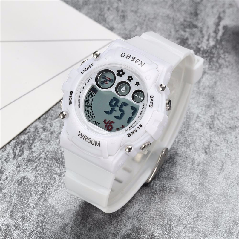 New Ohsen Unisex Watch Fashion Casual Watches Relogio Masculino Students Sports For Men Women Water Resistant Alarm Wristwatches (20)