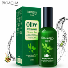 BIOAQUA Disposable Olive Hair Essential Oil Scalp Treatment Hair Conditioner for Dry and Damaged Hair Dyed Straight Hair Care organic root olive oil hair relaxer normal straighten hair