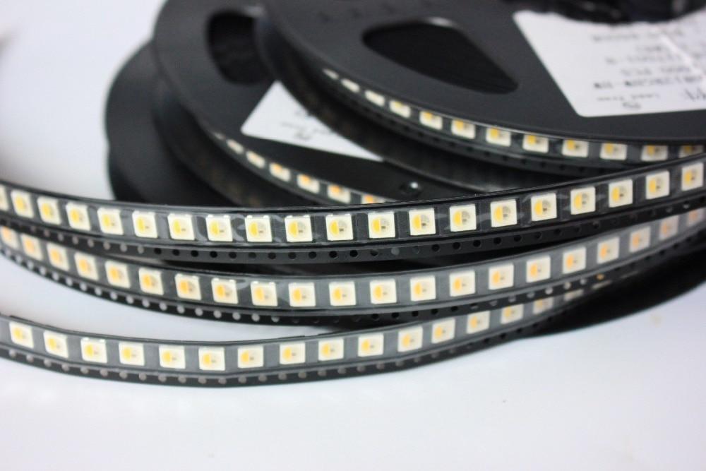 10 ~ 1000ks SK6812 (podobný WS2812B) RGBW RGB (přírodní / teplý / bílý) 5050 SMD Individuálně adresovatelné digitální LED čipové pixely DC 5V