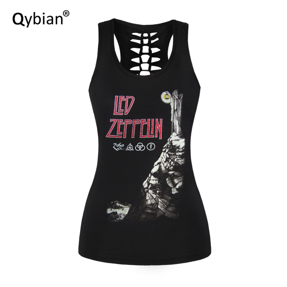 HOT Sexy Women O-Neck Tanks Sexy Back hollow out Clothing tank top Skeleton man prints black ladies vest