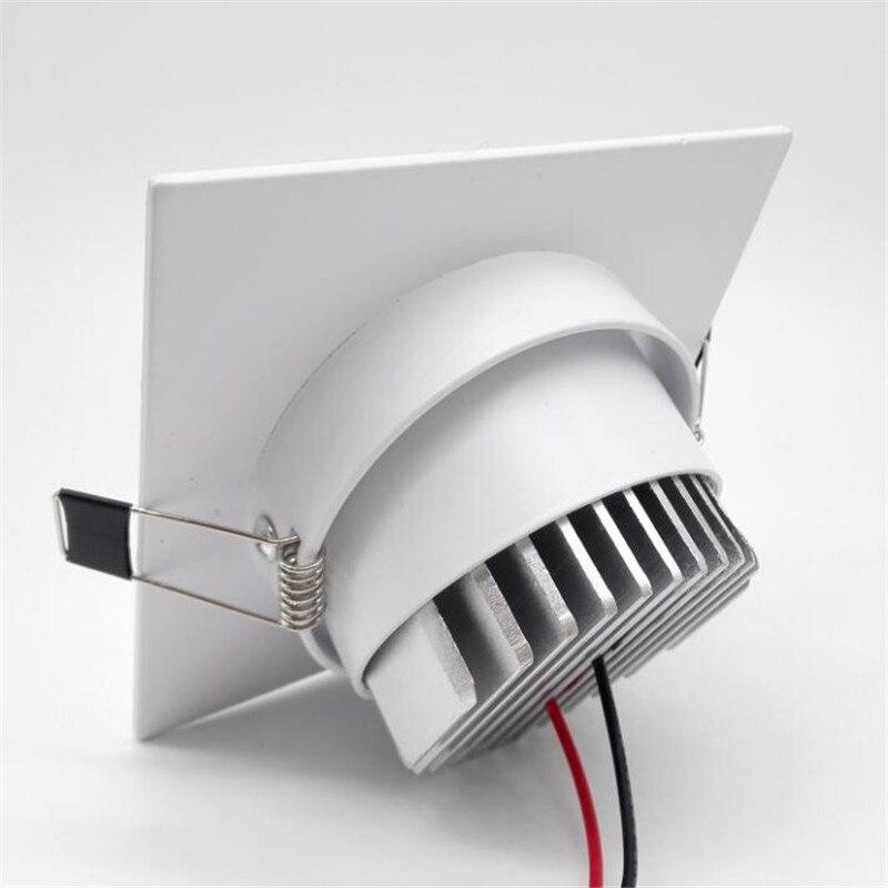 AC85-265v Meydanı 10w / 15w ölçülü cob led tavan lampası reched - Daxili işıqlandırma - Fotoqrafiya 4