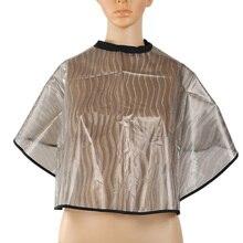 Y& W& F ПВХ прозрачная водостойкая краска для волос шарф антистатический шампунь шаль Регулируемая шея закрытие складной резка накидка для салона