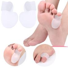 1 пара, подтяжки для ног, портные, маленький палец, боль в ноге, уход, корректор, подушка, гель, разделитель для ноги, инструмент для ухода за здоровьем-15