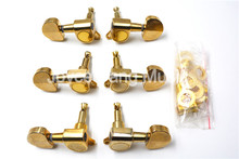 Niko Gold Semicircle Acoustic Guitar Tuning Pegs Tuners Machine Head 3L+3R Free Shipping Wholesales