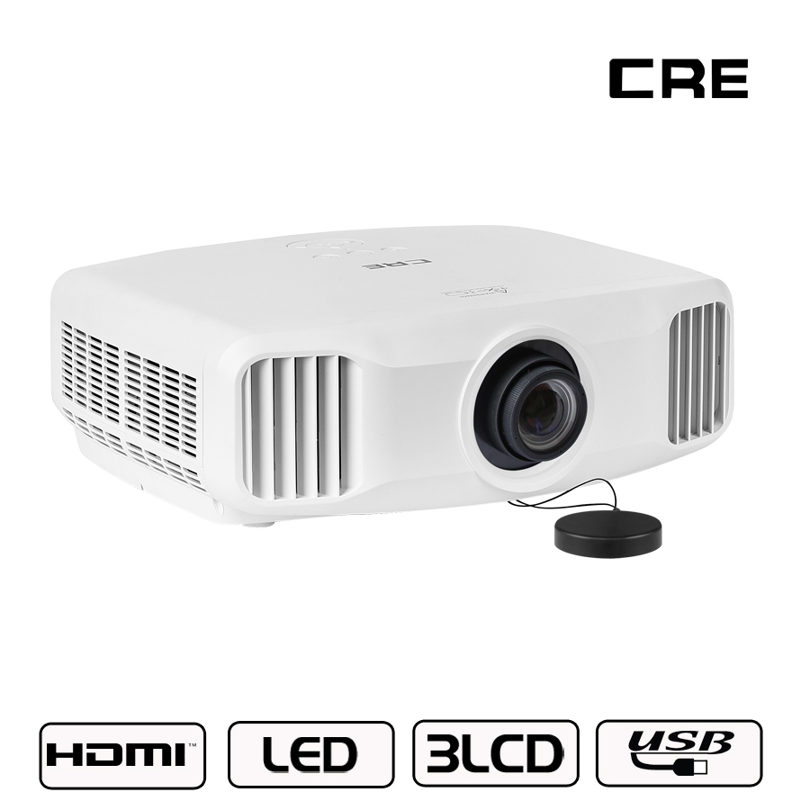 2018 New Home Projectors Theater Lcd 1080p Hd Multimedia: 2018 Original Full HD 1080P Support 4K 3LCD TV Smart Home