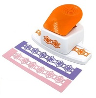free shipping new flower shape border punch foam paper embossing punch Edge craft punch scrapbook punches for paper cut