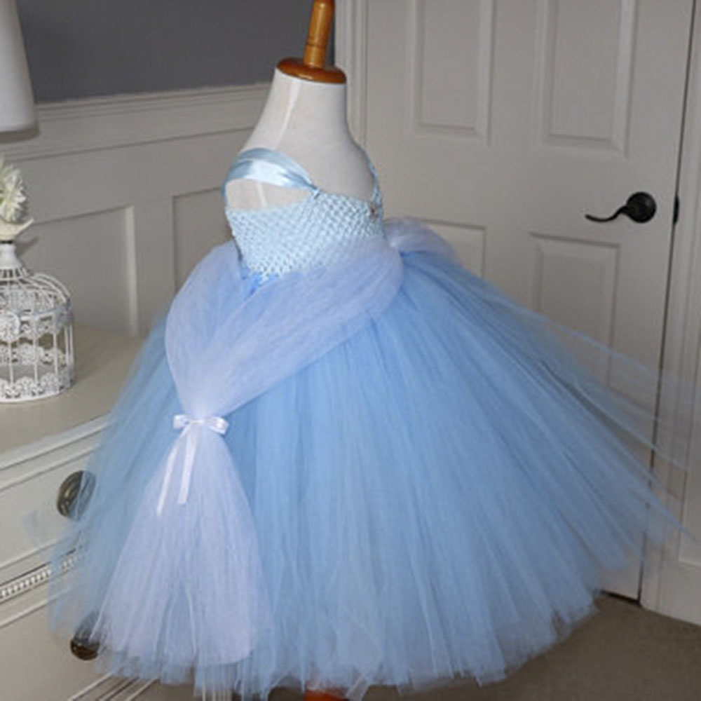 Princess Rapunzel inspired Tutu Dress Cinderella Inspired Baby Blue ...