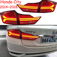 1set Car Bumper taillight for Honda City rear light 2014~2018y car accessories LED taillamp for City fog light