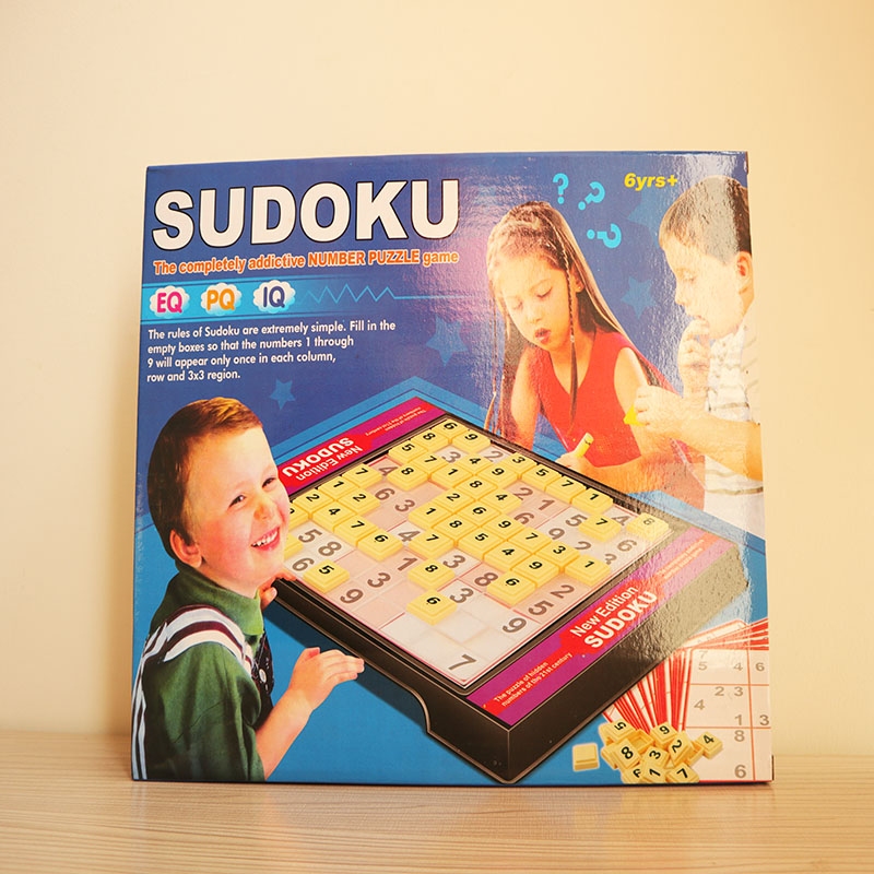 KID SUDOKU GAME Digital Chess Board Game Kids Thought Training Intelligent developing Logic Thoughts children educational toy