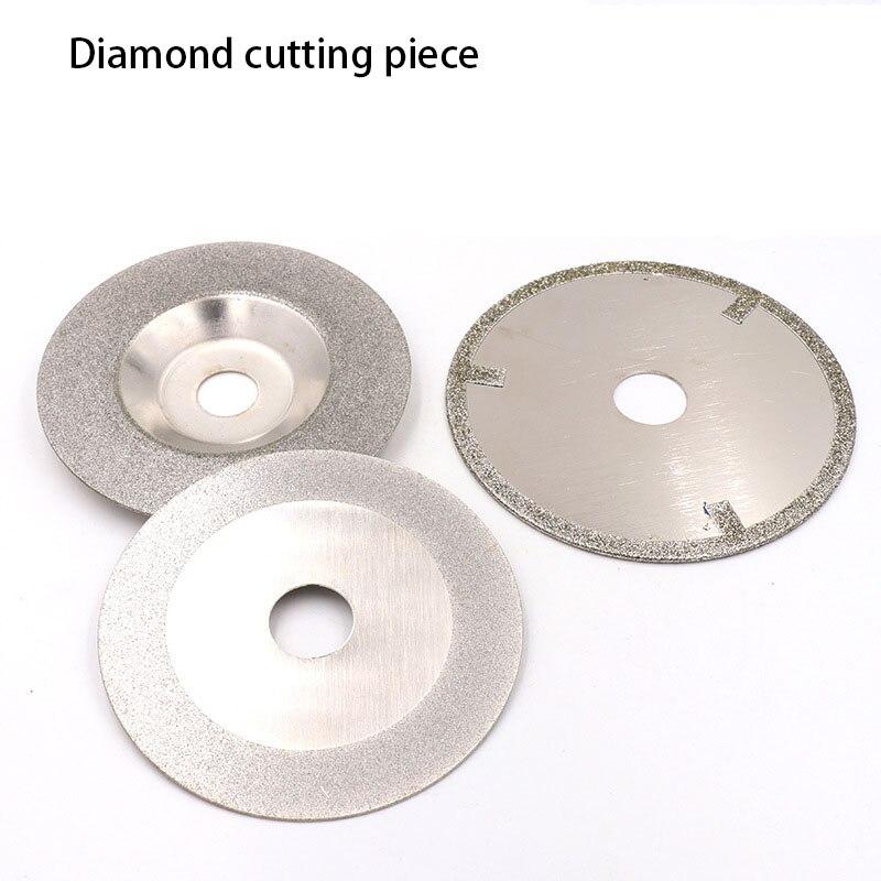 1 Uds., 100x20/100x16/110x20, pieza de corte de diamante, cuenco de esmeril, vidrio de molienda, herramienta de mano de diamante Chapado en cerámica, hoja de sierra