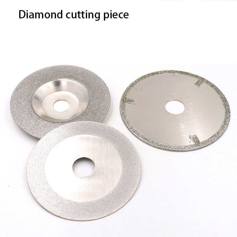 1pcs 100*20/100*16/110*20 Diamond Cutting Piece Emery Bowl Grinding Glass Ceramic Plated Diamond Hand Tool Saw Blade