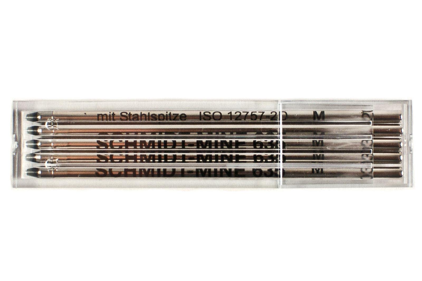 Schmidt Mine 635 M Refill 10 Pack  D1 ballpoint pen refills swarovski
