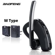 Walkie Talkie Wireless Headset PTT Bluetooth Kopfhörer mit Mic M Stecker Drahtlose kopfhörer Freihändig für Moto Schinken Station