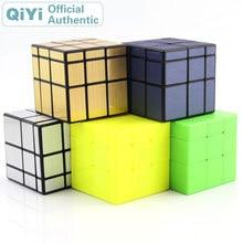 Qiyi Mirror 3x3x3 Magic Cube MoFangGe XMD 3x3 Cubo Magico Professional Speed Neo Cube Puzzle Kostka Antistress Fidget Toys qiyi sail fidget cube 3x3 pvc sticker professional magic cube boys educational toys puzzle cube