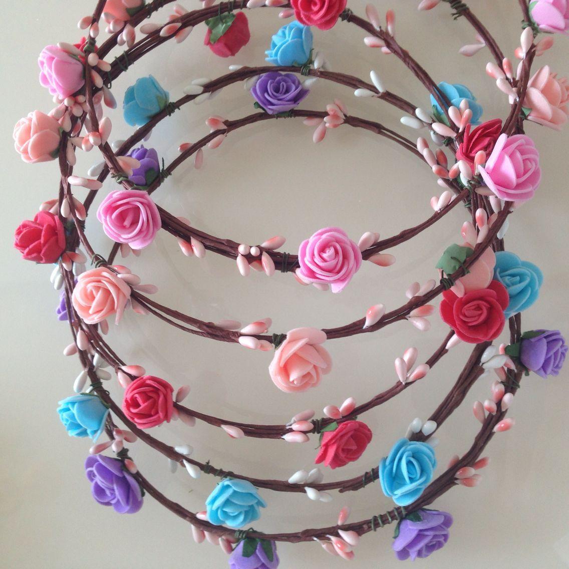 6ab82bac2cbb9d 2016 Mode Coréenne Style De Mariée Couronne W Mousse Roses Mariée Ornement  Artificielle Fleurs Cheveux Guirlande Pour Mariages Bandeau
