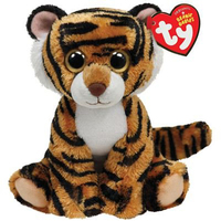 c7b934e201e Pyoopeo Ty Beanie Babies 6 quot  15cm Stripers Tiger Plush Regular Soft  Stuffed Big-eyed Animal Collection Doll Toy with Heart Tag