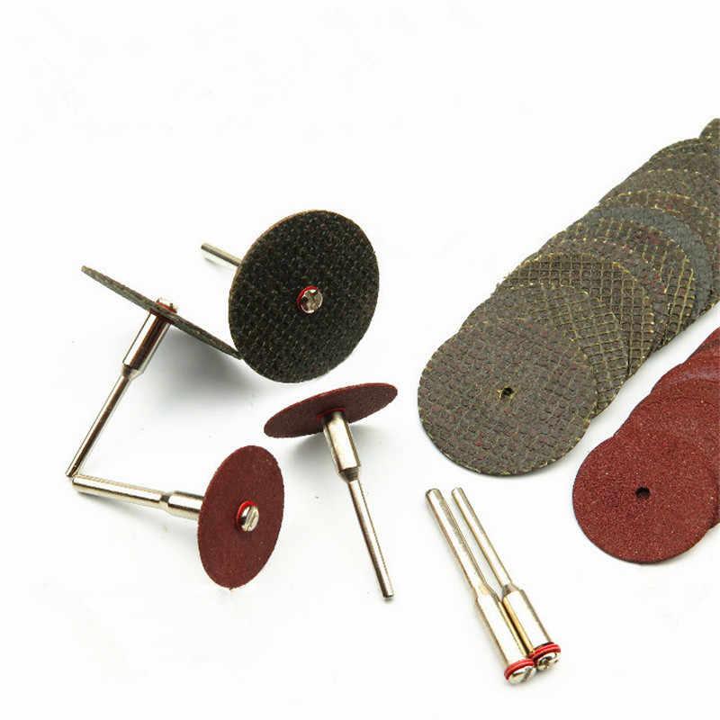 SHINA 36ชิ้นเรซิ่นแผ่นตัดชุดบดไฟฟ้าอุปกรณ์เสริมเครื่องแผ่นบดโลหะเลื่อยตัดD Remelเครื่องมือโรตารี่