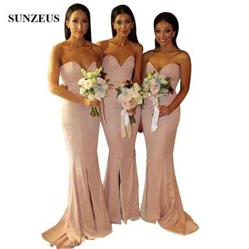 Vestidos Elegantes Baratos De Dama De Honor Vestido Simple