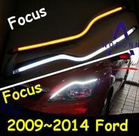 LED 2009 2011 Car Styling Car Fog Light Car Headlight Transit Explorer Topaz Edge Taurus Fusion