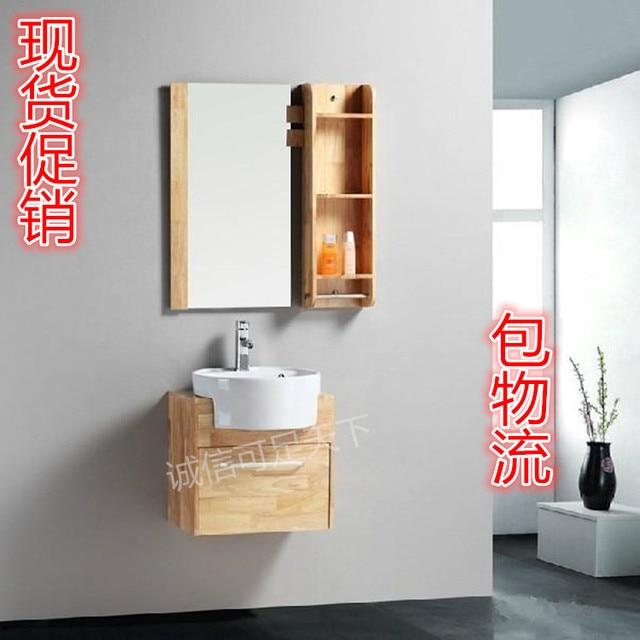Oak wall cabinets bathroom cabinet combination of hands face basin ...